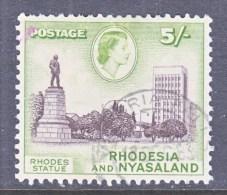 RHODESIA & NYASALAND  169    (o) - Rhodesia & Nyasaland (1954-1963)