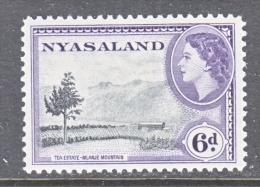 NYASALAND  104     **   TEA   MOUNTAINS - Nyasaland (1907-1953)