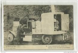 LA GUERRE DE 1914-canon Allemand DAIMLER Contre Aéroplane-circulée En 1915 - Equipment