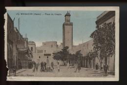 Mogador Place Du Chayla (voir Bords Gauche) - Marocco
