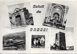 Sardegna-nuoro-saluti Da Orosei Vedute Di Orosei - Altre Città