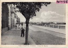 Calabria-vibo Valentia Corso M.bianchi Veduta Animata Anni 40/50 - Vibo Valentia
