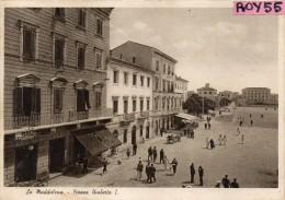 Sardegna-olbia-la Maddalena Piazza Umberto I Veduta Animatissima Anni/30 - Altre Città