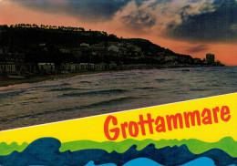 GROTTAMMARE  (AP)   TRAMONTO   (VIAGGIATA) - Italia