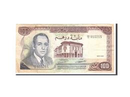 Maroc, 100 Dirhams, 1970, Undated, KM:59a, TTB - Maroc