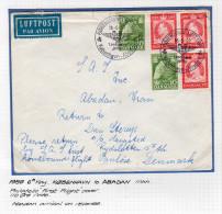1959 First Flight Kobenhavn – Abadan SCARCE (d7) - Denemarken
