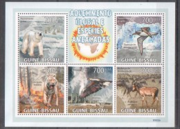 Guinea Bissau 2009 Global Warming Tiere Animals - Guinée-Bissau