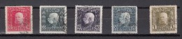 Oostenrijk 1912 Mi Nr 69,74,75,77,80 Franz Joseph I Bosnien Und Herzegowina Militair - Gebruikt