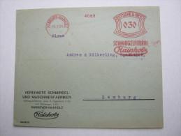 1931 , Hannover ,     Freistempel  Auf  Briefvorderseite - Briefe U. Dokumente