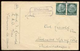 19443 DR RAD 12 / 151 Brief Landpost Stempel Wulmenau über Bad Oldesloh - Wyk Auf Föhr 1940 ,Bedarfserhaltung Ohne Inh - Germany