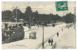75018 - PARIS - (711) - MONTMARTRE - Sortie De Paris Par La Porte Ornano - CPA - Arrondissement: 18