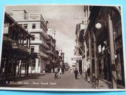 Prince FAROUK Street ( Simon Arzt Store ) - Anno 19?? ( Fotokaart / Zie Foto Details ) !! - Port-Saïd