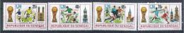 1974 SENEGAL 401-04** Football, Munich - Senegal (1960-...)