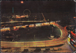 Austria - 1010 Wien - Praterstern At Night - Riesenrad - Cars - LKW - Prater