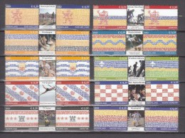 Netherlands Nederland 2002,10V,different Tipical Sportevents From The Netherlands,Fierljeppen,MNH/Postfris(A2354) - Wielrennen