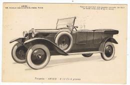 Torpedo    Aries    (avenue Des Champs élysées )  1928 - Champs-Elysées