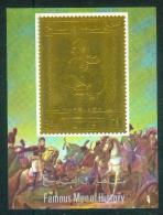 Yemen - Bloc Napoleon ( Timbre Sur Feuille D´or ) Luxe - Napoleon