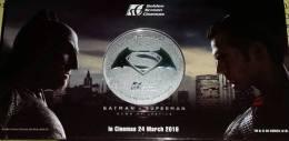 Malaysia USA Hollywood 2016 COIN Superman & Batman Dawn Of Justice - Malaysia