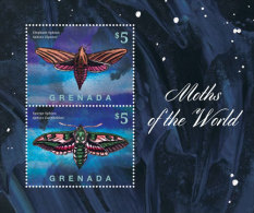 Grenada-2014-Insects-Moth S - Grenada (1974-...)