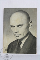 Cinema/ Movie Topic Small Postcard - Actor: Yul Brynner - Acteurs