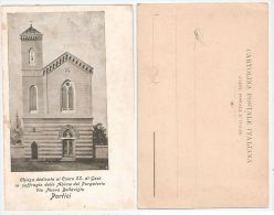 PORTICI ( NAPOLI ) CHIESA DEDICATA AL CUORE SS DI GESU - EDIZ. E. VERGARA 1900 - Portici