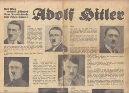 Zeitung Deutsche Getränke-Industrie 4 Seiten über Hitler Und Armee - Historische Figuren