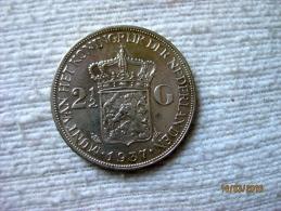 Netherland: 2 1/2 Gulden 1937 - [ 3] 1815-… : Royaume Des Pays-Bas