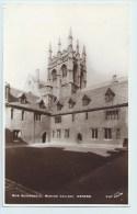 Oxford - Merton College, Mob Quadrangle - England