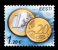 Estonia 2014 Mih. 807 Euro Coins MNH ** - Estland