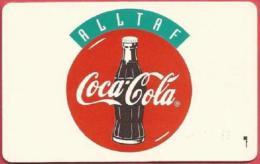 Iceland - ICE-RA-06, Radomidun, MACSEA / Coca Cola, 150U, 3,000ex, 1994, Mint