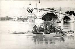 CARTE PHOTO VALENCE ( Pont Coupé 1939/1940 ) - Valence