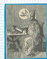Holycard   St.  Gregorius De Grote - Santini