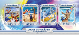 GUINEA BISSAU 2016 - Water Polo At Olympics In Rio. Official Issue