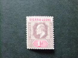 SIERRA LEONE 1903 Yvert Nº 50 * MH - EDOUARD VII - SG Nº 74 * MH - Sierra Leona (...-1960)