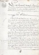 Acte  De 1808 - Acte  Dpt 95  Marines - Timbri Generalità