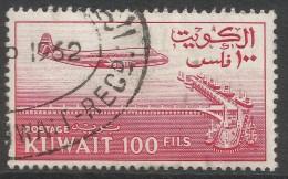 Kuwait. 1961 New Currency. 100f Used. SG 159 - Kuwait