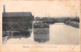 02 - Chauny - Péniche Et Pont Tournant - Chauny