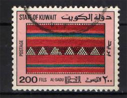 KUWAIT - 1986 - TAPPETO - SADU ART -  USATO - Kuwait