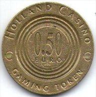 2728 Vz Holland Casino 0.50€ - Kz Holland Casino HC 2002 - Casino