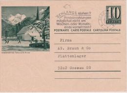 SUISSE 1965 ENTIER POSTAL  C ARTE ILLUSTREE DE ARBON - Stamped Stationery