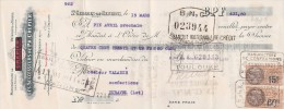 15/3/1927 CREPIER Vêtements De Travail Confection Tabliers De Tonneliers ST GEORGES De RENEINS Rhône Pour Duravel Lot - Lettres De Change