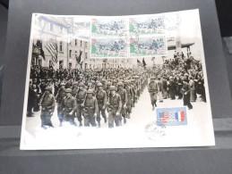 FRANCE - Photo Commémorative Du Défilé Des Troupes Après La Livération De Cherbourg - Photo Juin 1944 - A Voir - P17294 - 2. Weltkrieg