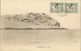 Djibouti -Guardafui - Le Lion -  Carte Oblitéré 1906 - Djibouti