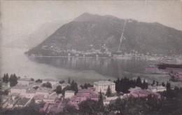 Italy Lake Como Aerial View
