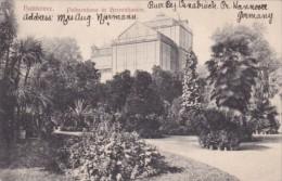 Germany Hannover Palmenhaus in Herrenhausen 1907