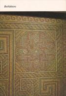 Israel--Bethlehem--The Church Of The Nativity--Constantinian Mosaic-- - Israel