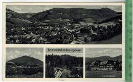 Krummhübel Im Riesengebirge, 1938, Verlag: --------. Postkarte, Sauber Gestempeltmit,Frankatur, Stempel, KRUMMHÜBEL,18.8 - Schlesien