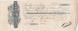 1/2/1900 Frédéric BONNAFE Fromages Du Cantal Et De Laguiole AURILLAC  Pour Cornac Lot - Lettres De Change
