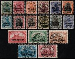 ~~~ Memel 1920 - Mi. 1/17 (o) - CV 330.00 Euro ~~~ - Memel