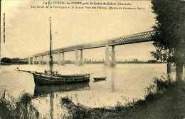 CPA - Saint-André De Cubzac (33)  - Pont  Ferroviaire - Ouvrages D'Art